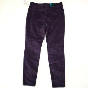 Style&Co Women's Purple Corduory Pants 12 B2220